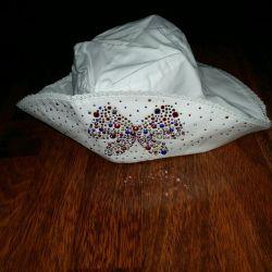 Bakireler için yazlık şapka, yeni, pamuklu, Chobi, s. 53