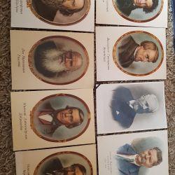 Καρτ ποστάλ των διάσημων ανθρώπων της ΕΣΣΔ.