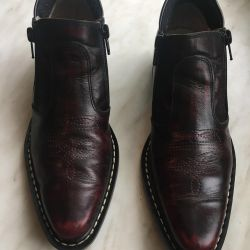 Leather shoes for boy 36 size
