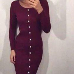 Πλεκτό φόρεμα s-m