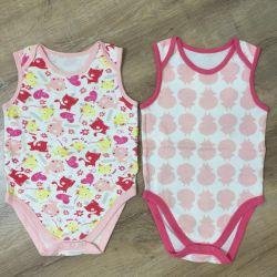 Два боди Mothercare, размер 1,5-3 года