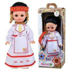 Narspish doll in Chuvash costume