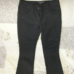 150-152 nehrinin kızı için pantolonlar (ts. Mavi)
