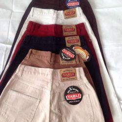 Women's jeans Turkey 100 percent cotton.