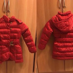 Winter jacket with a hood