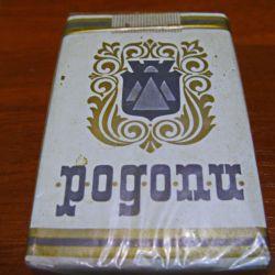 "Pachet de țigări ""Pogonu"" (Rhodope). Bulgaria."