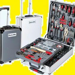 Набор инструментов в чемодане 187 предметов. Новый