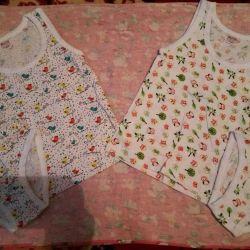 New Sets of panties and T-shirt