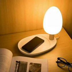 LED table lamp with charging function