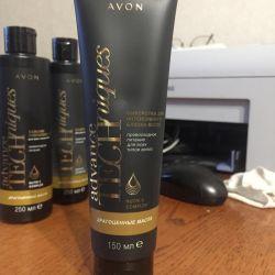 Serum for intense hair shine