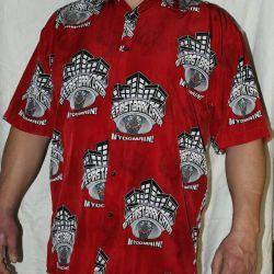 Новая американская рубашка MIC XXL-3XL размер