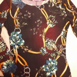 Manşonlu uzun elbise (maksi) p 40-42 (xs-s)
