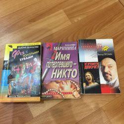 Cărți detectivi. 30 rublează o bucată