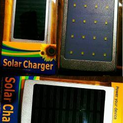 New! 30.000mAh Powerbank with solar battery