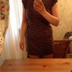 Короткое платье oggi в цветочек