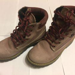Boots stylish leather f.Bama 32 solution