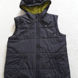 Vest for boy outventure on height 158 cm.