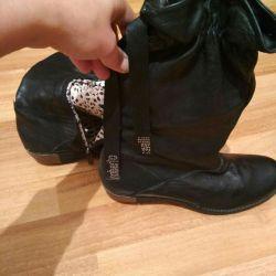 Μπότες Αρχικό δέρμα Roberto Cavalli