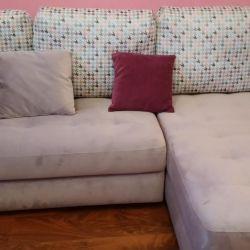 Köşeli kanepe - düz