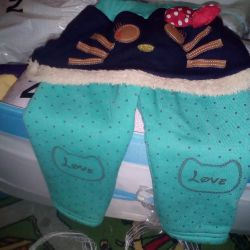 Pants warm for girls