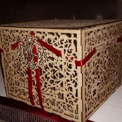 Короб, скарбниця для дарів на весілля.