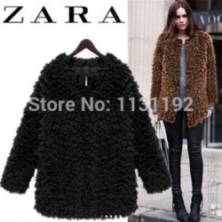 Short fur coat new size 46-50