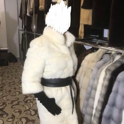 Mink coat stylish