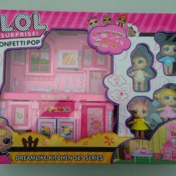 Doll Lol Set Kitchen