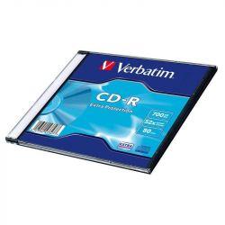 Δίσκος CD-R 700Mb 80 λεπτά Verbatim 52x, λεπτό