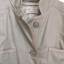 Υφασμάτινο παντελόνι Yessica στο C & A, 46-48 μ.