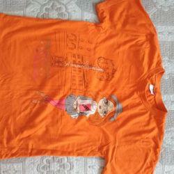 Kız 9-11 için tişört