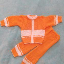 Set. Jacket + pants.74-80cm