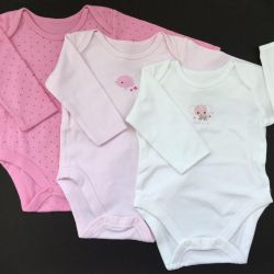 A new set of 3 mothercare, size 3-6 months