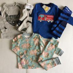 Pijamale noi 68-80cm