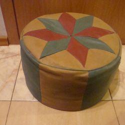 ottoman leather