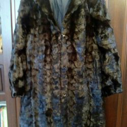 Fur coat, mink