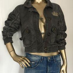 windbreaker bomber jacket