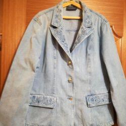 Μπλούζα τζιν μέγεθος 50-52