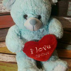 Toy teddy bear teddy gift love heart