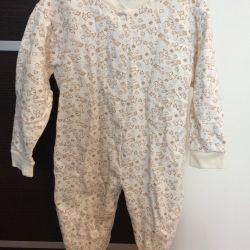 Children's overalls (slip) warm