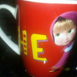 Mug Masha and the Bear