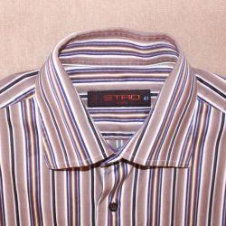 ETRO 46-48 M πουκάμισο πρωτότυπο του ανθρώπου