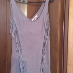 Dress suede in perfect condition