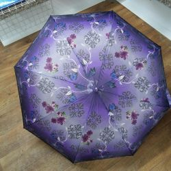 Umbrella with a picture