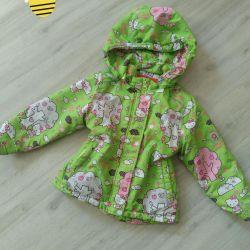 Sintepon çocuk ceketi, sonbahar-ilkbahar
