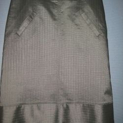 Skirt, color SILVER!
