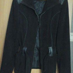 jachetă din micro-catifea