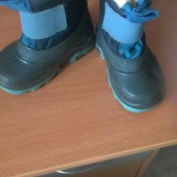 Boots and felt boots