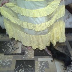 petticoat floor skirt