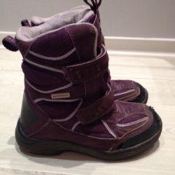 Kışlık botlar, benzer,